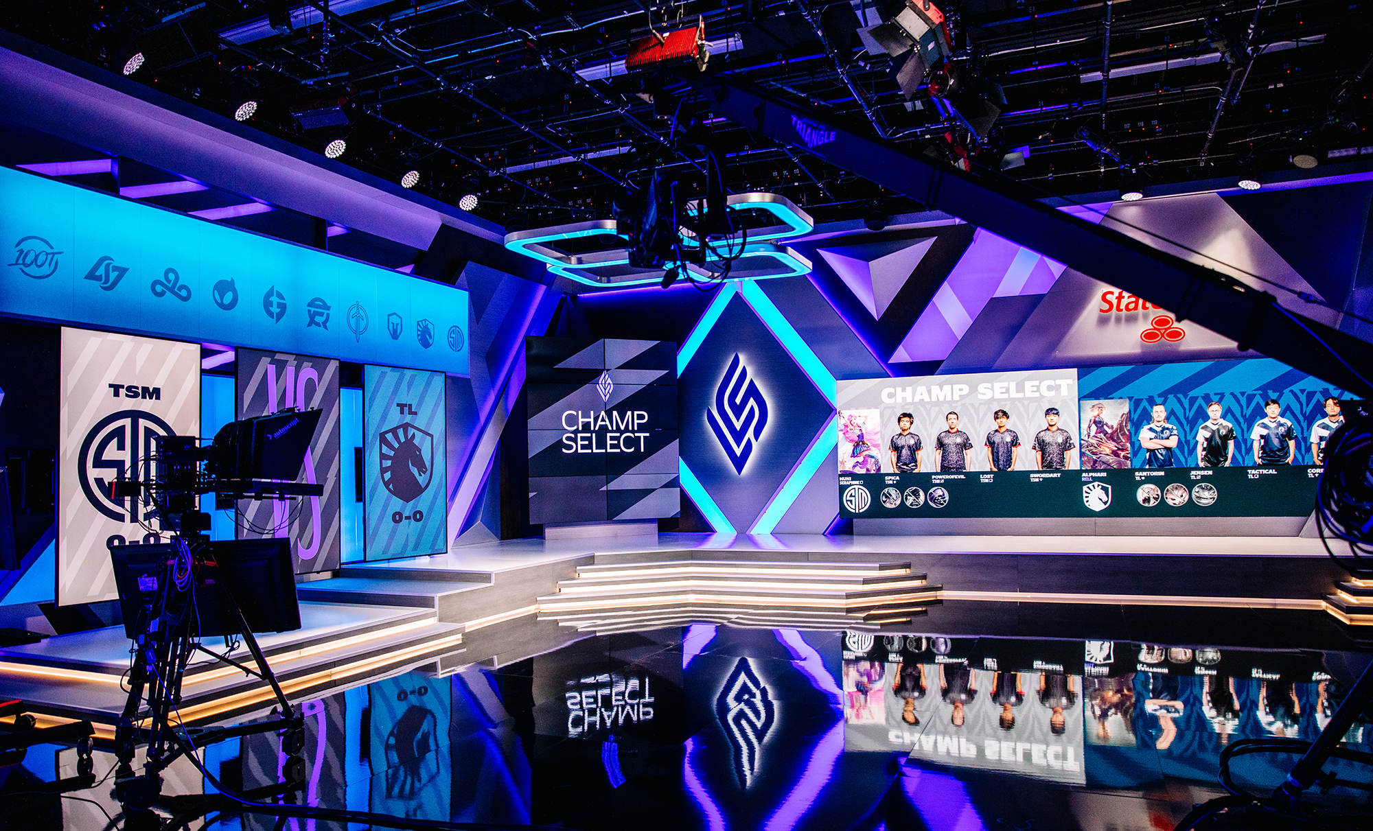 Photo of LCS Finals stage