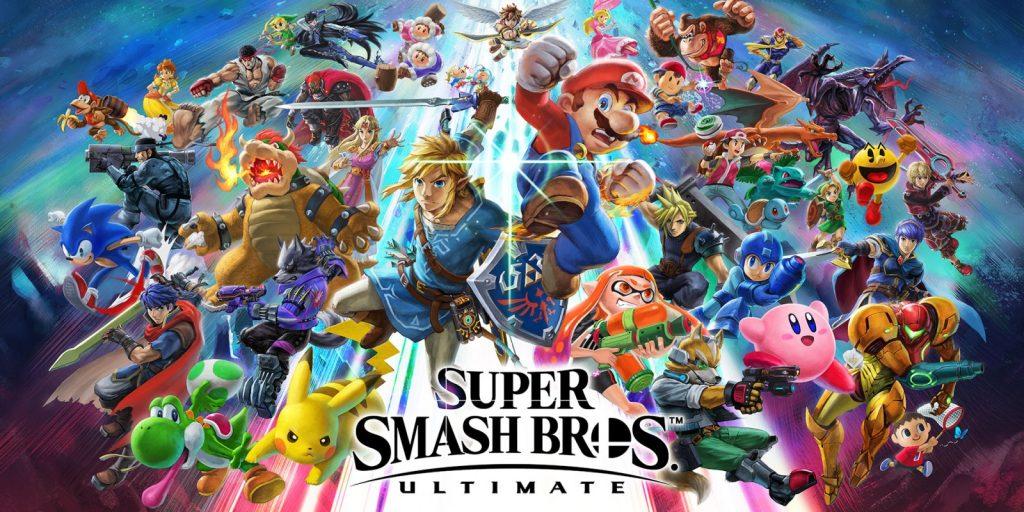 Smash Ultimate game graphic